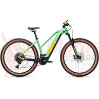 Bicicleta Cube Reaction Hybrid SL 625 29' Trapeze Mint/Lime 2021