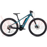 Bicicleta Cube Reaction Hybrid Youth 400 Blue/Orange 2020