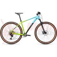 Bicicleta Cube Reaction Pro 29'' Fadingblue/Green 2021