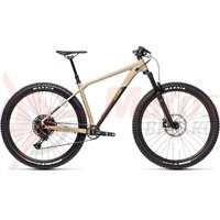Bicicleta Cube Reaction TM 29' Desert/Orange 2021