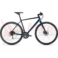 Bicicleta Cube SL Road black/blue 2018