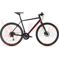 Bicicleta Cube SL Road Pro black/red 2018