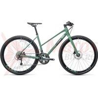 Bicicleta Cube SL Road Pro Trapeze Greygreen/Green 2021