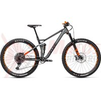 Bicicleta Cube Stereo 120 HPC TM 29 Flashgrey/Orange 2021
