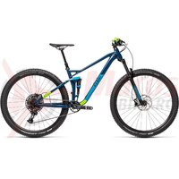 Bicicleta Cube Stereo 120 Pro 29' Blueberry/Green 2021