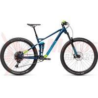 Bicicleta Cube Stereo 120 Pro 29' Blueberry/Green 2021