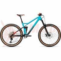 Bicicleta Cube Stereo 140 HPC Race 27.5' Petrol/Red 2021