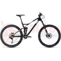 Bicicleta CUbe Stereo 140 HPC SL 27.5 carbon/white 2018