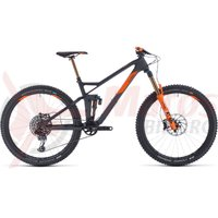 Bicicleta Cube Stereo 140 HPC TM 27.5 grey/orange 2020