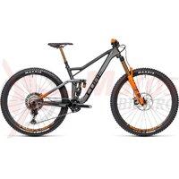 Bicicleta Cube Stereo 150 C:68 TM 29 Flashgrey/Orange 2021