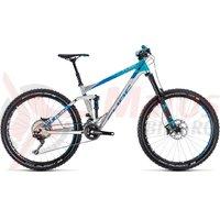 Bicicleta Cube Stereo 160 SL 27.5 metal/blue 2018