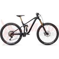 Bicicleta Cube Stereo 170 SL 29 Black/Anodized 2021