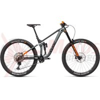 Bicicleta Cube Stereo 170 TM 29 Grey/Red 2021
