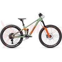 Bicicleta Cube Stereo 240 Pro Olive/Orange 2021