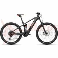 Bicicleta Cube Stereo Hybrid 120 Pro 500 27.5' Black Red 2021