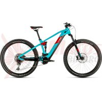 Bicicleta Cube Stereo Hybrid 120 Pro 500 29' petrol/red 2020