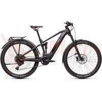 Bicicleta Cube Stereo Hybrid 120 Pro 500 Allroad 27,5' Black/Red 2021