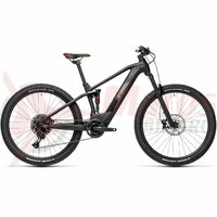 Bicicleta Cube Stereo Hybrid 120 Pro 625 29' Black Red 2021