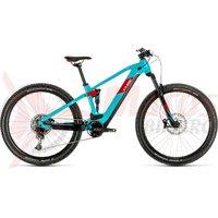 Bicicleta Cube Stereo Hybrid 120 Pro 625 29' petrol/red 2020