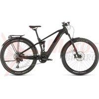 Bicicleta Cube Stereo Hybrid 120 Pro 625 Allroad 29 black/red 2020