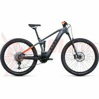 Bicicleta Cube Stereo Hybrid 120 Pro 625 Flashgrey Orange 2022