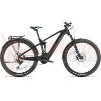 Bicicleta Cube Stereo Hybrid 120 Race 500 Allroad 29 black/blue 2020
