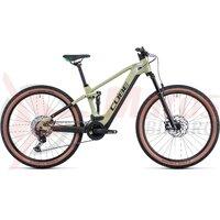 Bicicleta Cube Stereo Hybrid 120 Race 625, 27.5' Green Flashgreen 2022