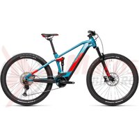 Bicicleta Cube Stereo Hybrid 120 Race 625 29' Blue/Red 2021