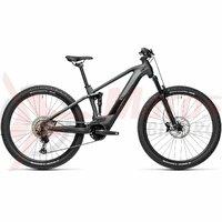 Bicicleta Cube Stereo Hybrid 120 Race 625 29' Iridium/Black 2021