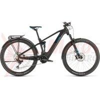 Bicicleta Cube Stereo Hybrid 120 Race 625 Allroad 29 black/blue 2020