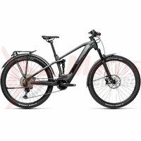 Bicicleta Cube Stereo Hybrid 120 Race 625 Allroad 29' Iridium/Black 2021
