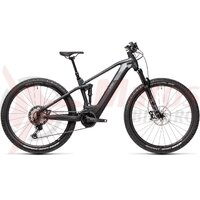 Bicicleta Cube Stereo Hybrid 120 SL 625 29' Black/Grey 2021