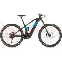 Bicicleta Cube Stereo Hybrid 140 HPC Race 625 29 black/blue 2020