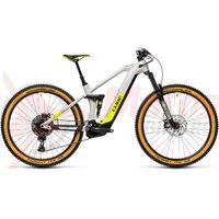 Bicicleta Cube Stereo Hybrid 140 HPC Race 625 29' Grey/Yellow 2021