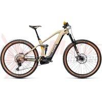 Bicicleta Cube Stereo Hybrid 140 HPC SL 625 27.5' Desert/Orange 2021