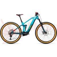 Bicicleta Cube Stereo Hybrid 140 HPC SL 625 27.5' Petrol/Peach 2021
