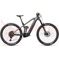 Bicicleta Cube Stereo Hybrid 140 HPC TM 625 27.5 Flashgrey/Orange 2021