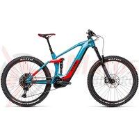 Bicicleta Cube Stereo Hybrid 160 HPC Race 625 27.5' Blue/Red 2021