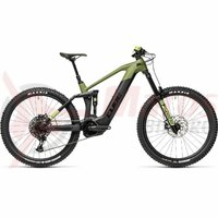 Bicicleta Cube Stereo Hybrid 160 HPC SL 625 27.5' Olive/Black 2021