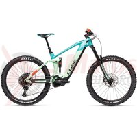Bicicleta Cube Stereo Hybrid 160 HPC SL 625 27.5' Pacific/Red 2021