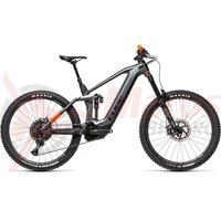 Bicicleta Cube Stereo Hybrid 160 HPC TM 625 27.5  Flashgrey/Orange 2021