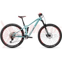 Bicicleta Cube Sting WS 120 Pro 27.5' iridium/berry