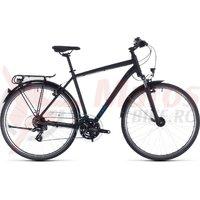 Bicicleta Cube Touring Black/Blue 2020