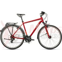 Bicicleta Cube Touring Darkred/Grey 28