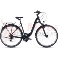 Bicicleta Cube Touring Easy Entry Black/Blue 2020