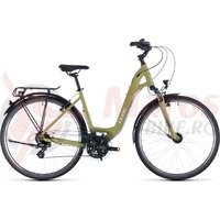Bicicleta Cube Touring Easy Entry Green/White 2020