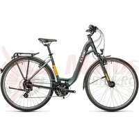 Bicicleta Cube Touring Easy Entry Grey/Yellow 2021