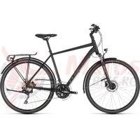 Bicicleta Cube Touring Exc Black/Brown 2019