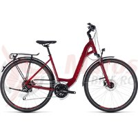 Bicicleta Cube Touring EXC Easy Entry darkred/red 2018