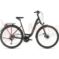 Bicicleta Cube Touring EXC Easy Entry Iridium/Silver 2020